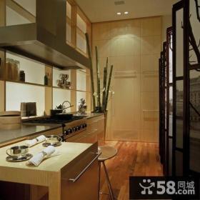 四居室家庭厨房装修效果图大全2014图片