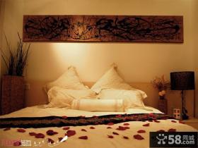现代风格小户型沙发背景墙效果图