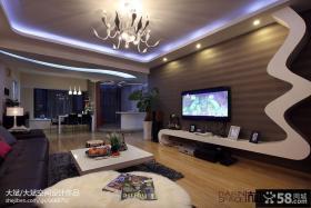 家装设计电视背景墙效果图