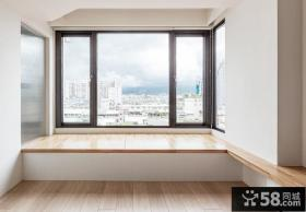 简约公寓室内飘窗装修效果图