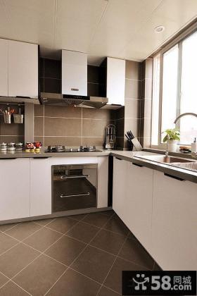 后现代厨房装修效果图