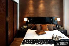 现代中式风格复式楼卧室装修效果图