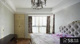 欧式卧室飘窗
