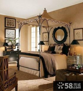 欧式风格卧室装修效果图2013