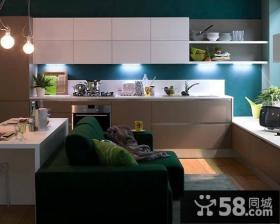 40平超小户型厨房橱柜装修效果图大全2012图片