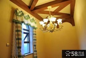 田园设计室内吊顶图