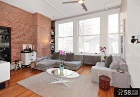 80平米小户型客厅装修效果图欣赏