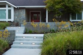 别墅室外台阶装修效果图