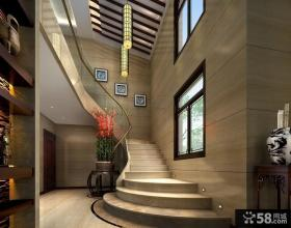 高档别墅现代楼梯装修效果图