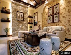 欧式家装复式客厅图片欣赏大全
