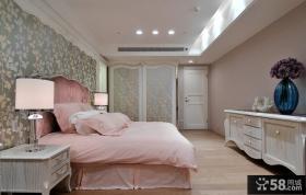 温馨简欧式卧室装修效果图欣赏
