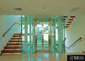 别墅室内观光电梯图片