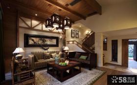 中式古典装修吊顶图片