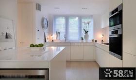 现代式厨房装修效果图