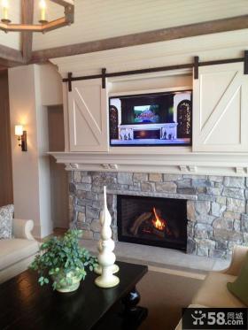 家庭设计室内客厅电视背景墙