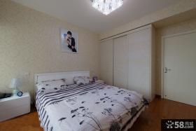 家装10平米现代卧室效果图