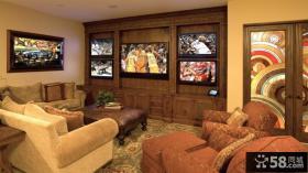 小户型电视背景墙装修效果图大全2012图片 简欧风格
