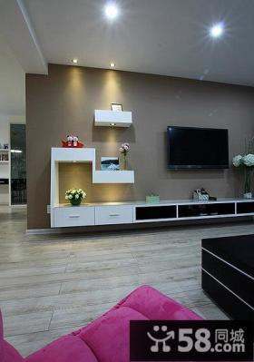 家居装饰设计客厅电视背景墙大全