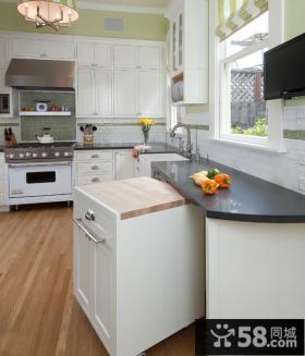厨房欧式橱柜效果图片