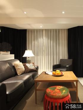 中式小户型客厅装修图片
