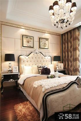 欧式新古典风格时尚卧室效果图