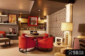后现代风格小户型餐厅装修效果图大全2012图片