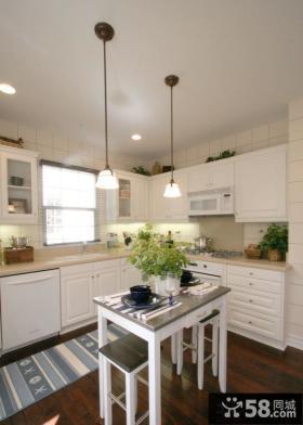 开放式厨房装修设计图片大全