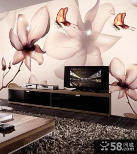 欧式优质款流行电视背景墙效果图