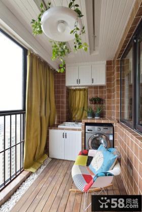 生活阳台改造装修案例