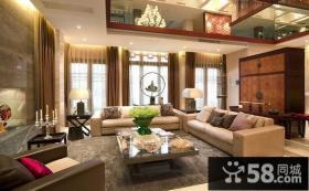 家装私人别墅客厅装修设计效果图
