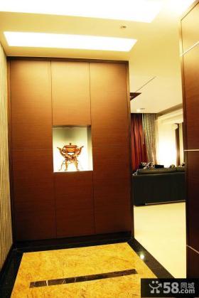 现代家庭玄关装修效果图片大全