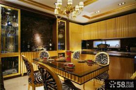 复古美式风格餐厅室内设计图片