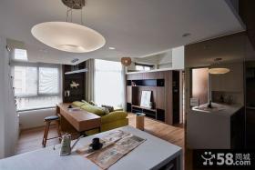 现代风格小别墅室内客厅设计效果图片