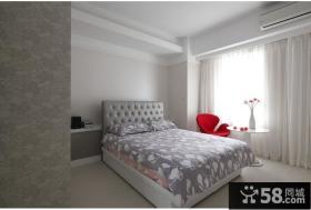 极简简欧风格卧室装饰效果图欣赏