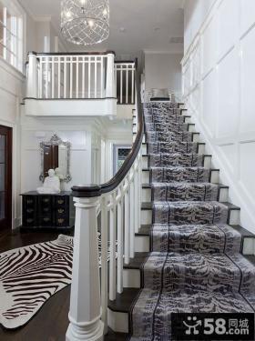 复式跃层楼梯装修效果图