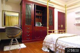 美欧设计卧室衣柜图大全欣赏