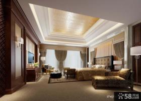 欧式卧室吊顶装修效果图设计