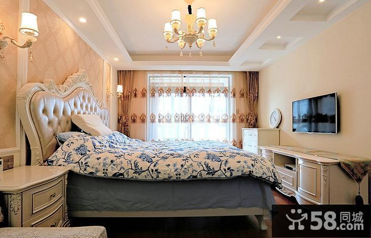 欧式卧室电视背景墙设计