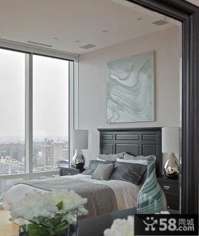 简约奢华的纽约复式卧室设计