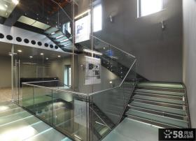 别墅室内楼梯设计效果图片2014