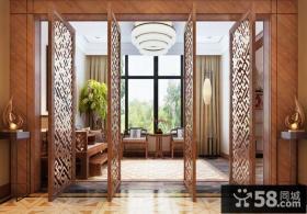 中式阳台设计图片