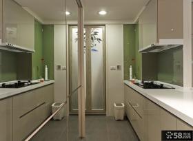 涵碧园时尚实用小户型厨房装修效果图大全2012图片