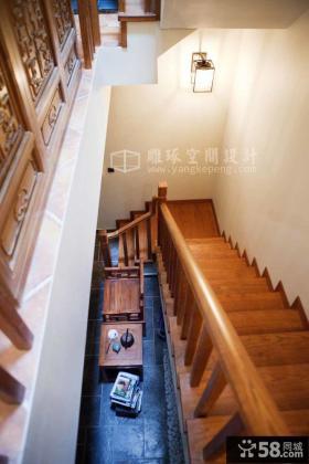 复式楼楼梯装修效果图大全2013图片
