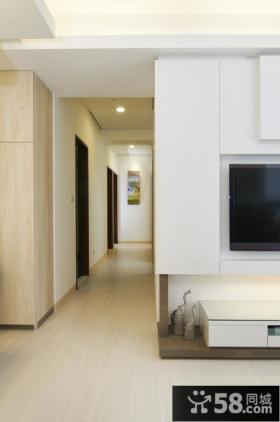 简约风格两居室装修设计图2015