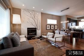三室两厅现代装修效果图大全2012图片