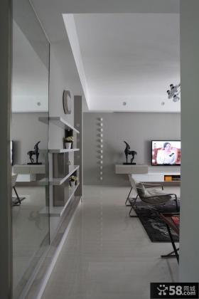 2015简约家居风格两室两厅户型室内设计