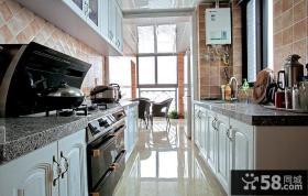 装修现代3平米厨房橱柜