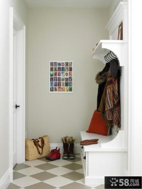欧式玄关鞋柜装修效果图大全2013图片