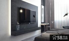 现代风格室内电视背景墙图片欣赏大全2014