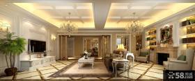 古典欧式客厅装修效果图大全